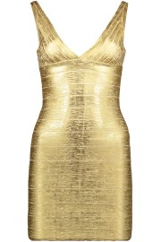 PARIS GOLD BAND STUNNER DRESS
