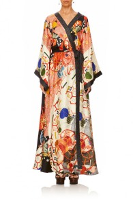 CAMILLA | KISSING THE SUN KIMONO WRAP DRESS