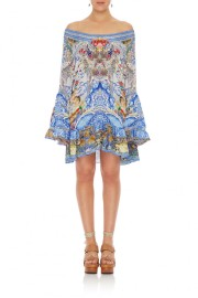 CAMILLA | GEISHA GATEWAYS FRILL DRESS