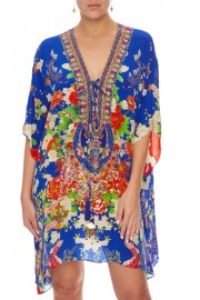 CAMILLA | PLAYING KOI SHORT KAFTAN