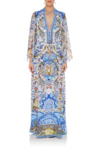 CAMILLA | GEISHA GATEWAYS BUTTON UP DRESS