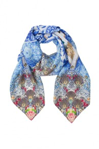 CAMILLA | GEISHA GATEWAYS SQUARE SCARF