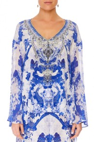 CAMILLA | THE FAN SEA BLOUSE