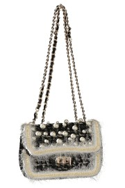 EVENING PEARL HANDBAG CHANEL SPIRIT | BLACK