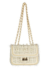 PEARL EVENING BAG CHANEL SPIRT | BEIGE
