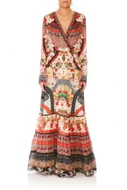 Camilla - Vintage Vixen Maxi Dress