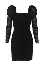 REBECCA VALLANCE | FRENCHIE MINI DRESS BLACK
