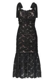 REBECCA VALLANCE | BETTY LACE DRESS BLACK