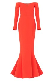 REBECCA VALLANCE | L'AMOUR GOWN DRESS RED