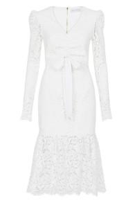 REBECCA VALLANCE | LE SAINT RUCHED DRESS
