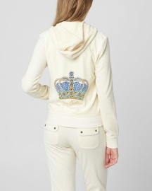 JUICY COUTURE | LUXE CROWN VELOUR ROBERTSON JACKET