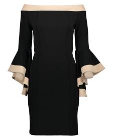 RINASCIMENTO STRETCH DRESS | BLACK & NUDE