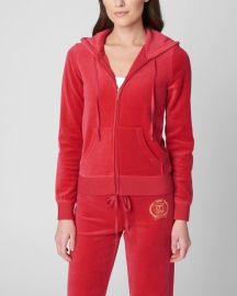 JUICY COUTURE | LUXE VELOUR SET CHERRY POP