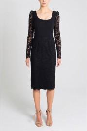 REBECCA VALLANCE | LE SAINT LACE DRESS BLAC