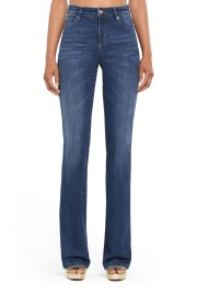 ROBERTO CAVALLI | BLUE FLARED JEANS