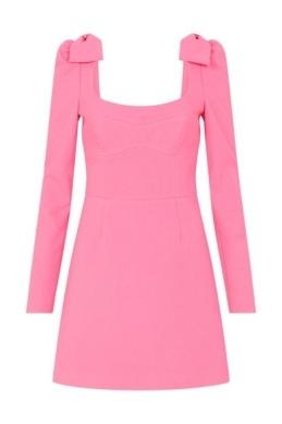 Rebecca Vallance - Love mini dress pink