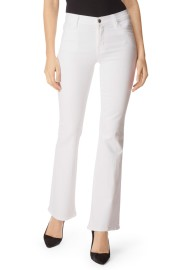 J BRAND | SALLIE BOOT CUT WHITE
