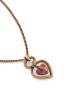 ROERTO CAVALLI CUBIC ZIRCONIA HEART NECKLACE