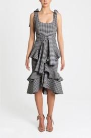 REBECCA VALLANCE | BIRGITTE FRILL DRESS