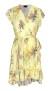 RAVN BELLY DRESS   YELLOW FLOWER