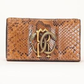 Roberto Cavalli snake clutch
