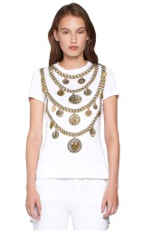 MEDALLION PRINT T-SHIRT