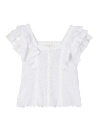 BY TIMO | ANGLAISE BLOUSE 001 white