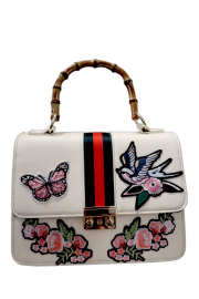 PARIS GUCCI INSPIRED BAG | CREAM