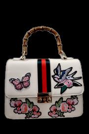 PARIS GUCCI INSPIRED BAG | CREAM