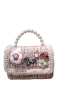 PARIS CHANEL INSPIRED BAG | PEARL PEACH