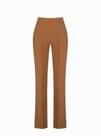 RINASCIMENTO BOOT CUT SMART TROUSERS | CAMEL