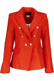 PARIS BLAZER RED | GUILDED BUTTONS