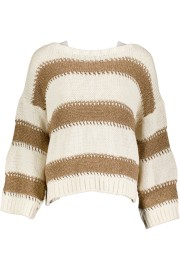 PARIS KNIT | CAMEL STRIPE