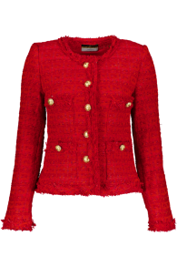 MARUSCHKA DE MARGO TWEED | CORAL RED