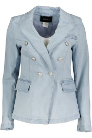 PARIS BLAZER DENIM |SILVER BUTTONS