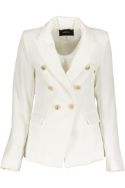 PARIS BLAZER GOLD BUTTONS| WHITE