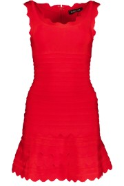 PARIS BAND DRESS | RED