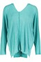 PARIS SWEATER BATWING | TURQUOISE