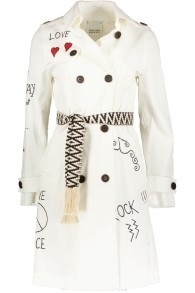 HISTORY REPEATS TRENCH COAT | WHITE