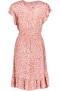 RAVN BELLY DRESS | BLURRED LEO PINK