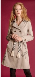 HISTORY REPEATS TRENCH COAT | BEIGE