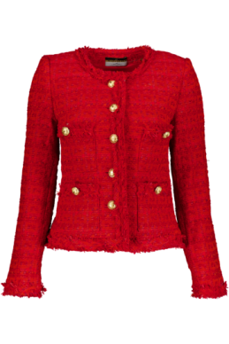 Maruschka de Margo - Tweed Jacket Red