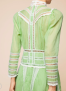 BY TIMO VICTORIAN ORGANZA DRESS   GREEN