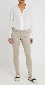 DL1961 FLORENCE SKINNY/SADDLEBROOK