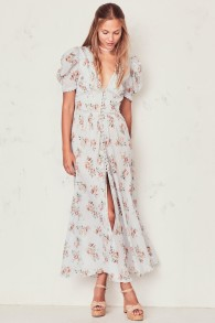 STACEY DUSTER COTTON DRESS | PERI PRINT