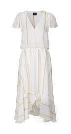 RAVN COCO DRESS |WHITE GOLD