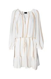RAVN CAPRI DRESS |WHITE GOLD