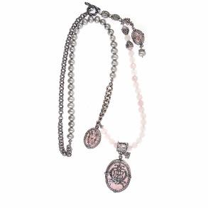 Gem Kingdom Rose  Quartz Necklace - Gem Kingdom Rose Quartz Necklace