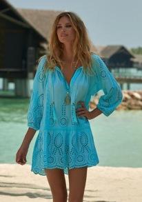MELISSA ODABASH ASHELY SKY DRESS