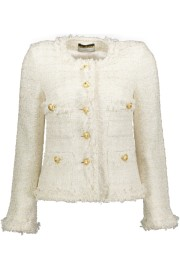 MARUSCHKA DE MARGO TWEED | CREAM & GOLD